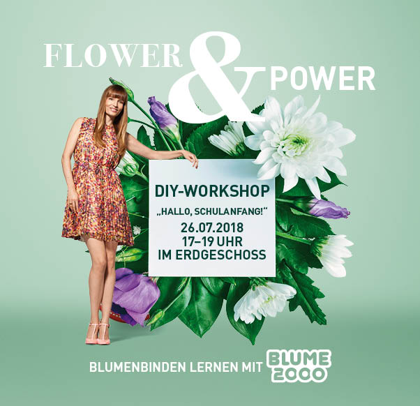 DIY FLOWER WORKSHOP